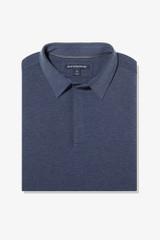 Mizzen+Main Long Sleeve Polo - Navy