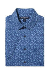 Mizzen Navy Floral SS Shirt