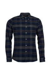 Barbour Grey Highland Check Tailored Shirt