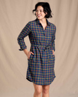 Toad&Co Women's Re-form Flannel Shirtdress