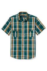 Filson Washed Feather Cloth Short Sleeve Shirt