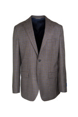 David Donahue Brown Check Sportcoat