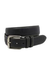 Torino Leather Co.40MM Embossed Black Calf Belt