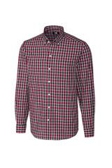 Cutter & Buck Big & Tall Harris Plaid Shirt
