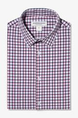 Mizzen + Main Navy Red Check Shirt