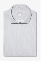 Mizzen Leeward Geo Dot Print Shirt