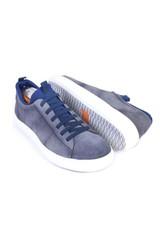 Martin Dingman Cameron Slate Suede Sneaker