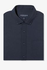 Mizzen+Main City Flannel Navy Shirt