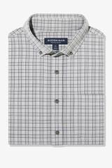 Mizzen+Main City Flannel Grey Plaid Shirt