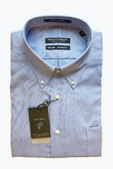 Forsyth of Canada Button Down Collar Dress Shirt - Blue