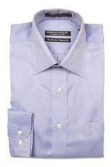Forsyth of Canada Point Collar Dress Shirt - Blue
