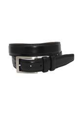 Torino Leather Co. Aniline Black Leather Belt