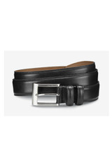 Allen Edmonds Black Wide Basic Dress Belt