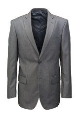 Giorgio Fiorelli Big & Tall Gray Solid Suit