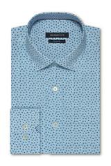 Bugatchi Turquoise Shaped Shirt
