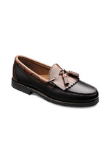 Allen Edmonds Nashua Black/Brown Tassel Loafer