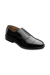 Allen Edmonds Park Avenue Black Captoe Oxford
