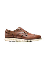 Cole Haan ZeroGrand British Tan Wingtip Oxford