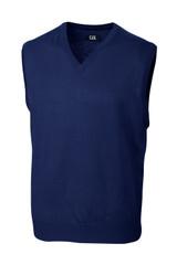 Cutter & Buck Big & Tall Douglas V-Neck Vest