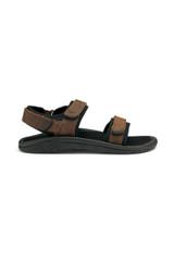 OluKai Hokua Pahu Leather Sandal