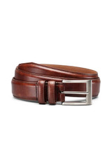 Allen Edmonds Chili Wide Basic Dress Belt