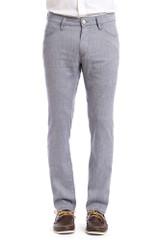 34 Heritage Charisma Indigo Textured Pant