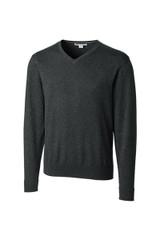 Cutter & Buck Big & Tall Lakemont Cotton V-Neck Sweater