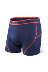 Saxx Midnight Blue/Orange Kinetic Boxer Brief