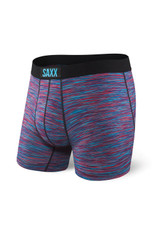 Saxx Red/Blue Space Dye Vibe Boxer Brief