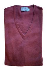 St. Croix Classic Merino V-Neck Sweater