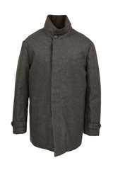 Norwegian Wool Stretch Carcoat
