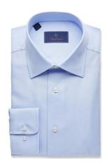 David Donahue Sky Royal Oxford Regular Dress Shirt