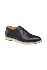 Johnston & Murphy Martell Black Plain Toe