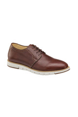 Johnston & Murphy Martell Mahogany Plain Toe