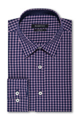 Bugatchi Midnight Weave Shaped Shirt