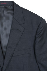 Byron Charcoal Solid Classic Fit Suit