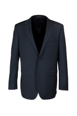 Byron Black Micro Stripe Classic Fit Suit