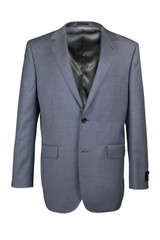 Byron Light Grey Solid Classic Fit Suit