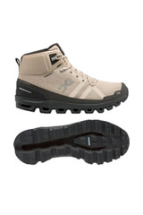 On Running Cloudrock Sand/Black Waterproof Boot