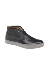 Johnston & Murphy Toliver Black Tumbled Chukka