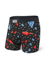 Saxx Black Beer Champs Vibe Boxer Brief