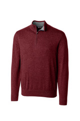 Cutter & Buck Big & Tall Lakemont Cotton 1/4 Zip