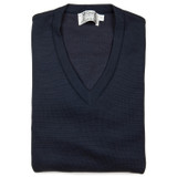 St. Croix Big & Tall Classic Milano V-Neck Sweater