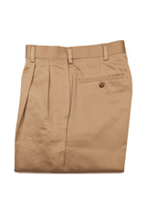 Savane Big & Tall Ultimate Performance Cotton Pleated Pant