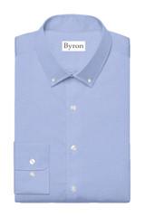 Bryon Wrinkle-Resistant Lt Blue Twill BD Dress Shirt