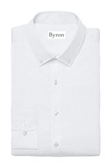 Byron Wrinkle-Resistant White Twill BD Dress Shirt
