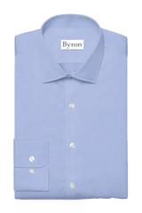 Byron Wrinkle-Resistant Lt Blue Twill Dress Shirt