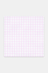 Byron Custom Wrinkle-Resistant Pink Grid Check