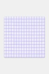 Byron Custom Wrinkle-Resistant Lavender Grid Check
