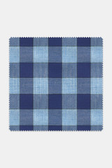 Byron Custom Navy & Cornflower Blue Check